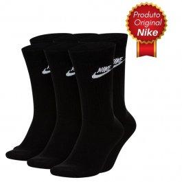 Imagem - Kit 3 Pares Meia Nike Cano Longo Original