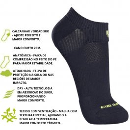 Imagem - Meia Dry Fit Lupo Sport cód: 4138546231