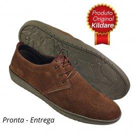 Imagem - Sapato Masculino Kildare Marrom Camurça Original