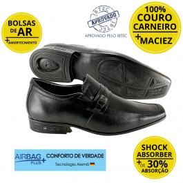 Imagem - Sapato Masculino Social Couro Jota Pe 3D Executive