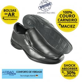 Imagem - Sapato Masculino Social Couro Jota Pe 3d Vision