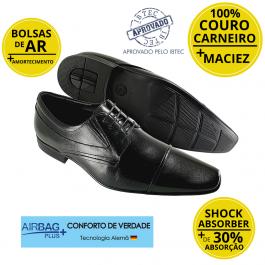 Imagem - Sapato Masculino Social Couro Jota Pe Air Biaggio