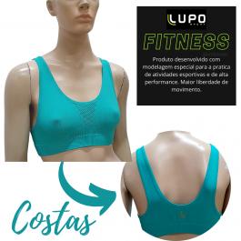 Imagem - Top Feminino Lupo Sport Attack Sem Costura