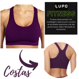 Imagem - Top Feminino Lupo Sport Nadador Up Control