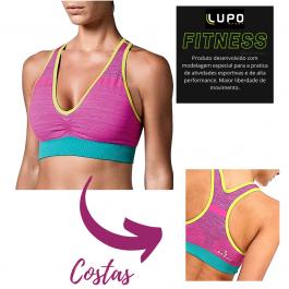 Imagem - Top Feminino Lupo Sport Nadador Colors