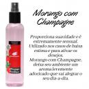 Morango com Champagne