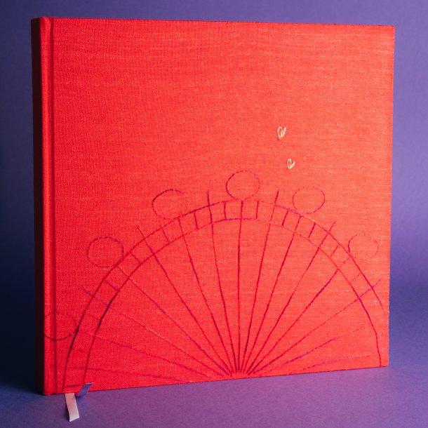 álbum de fotos big - coleção it's always you vermelho - mim papelaria
