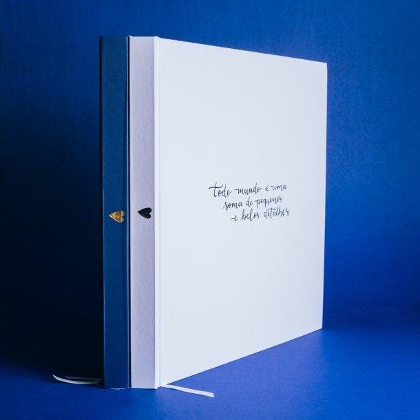 álbum de fotos big - coleção sweetheart - mim papelaria
