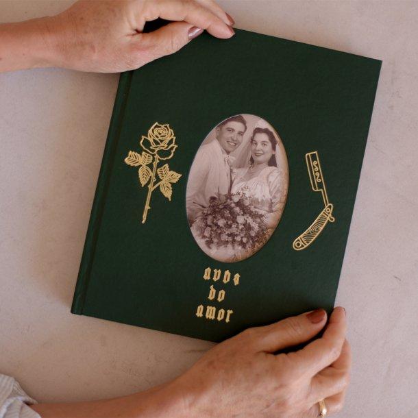 álbum de fotos m gravação avós - coleção avós do amor - mim papelaria