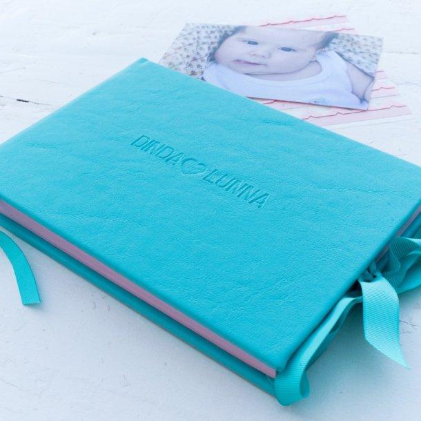 álbum de fotos p personalizado tiffany - mim papelaria