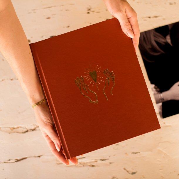 álbum de fotos m - coleção amor eterno - mim papelaria
