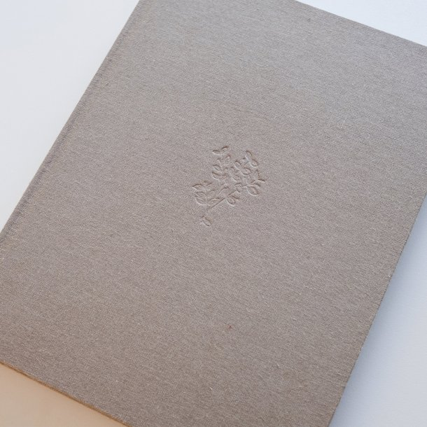 álbum meus primeiros cinco aninhos em linho - gravação botânico - mim papelaria