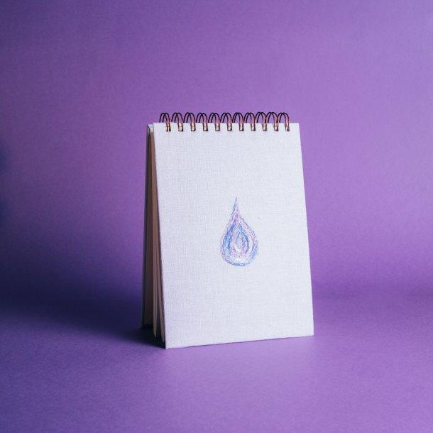 bloco de anotações - coleção it's always you lilás - mim papelaria
