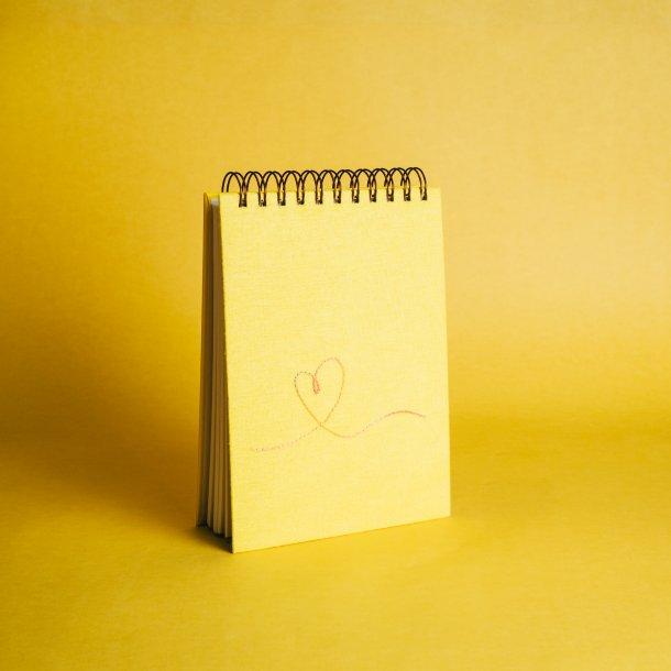 bloco de anotações - coleção it's always you amarelo - mim papelaria