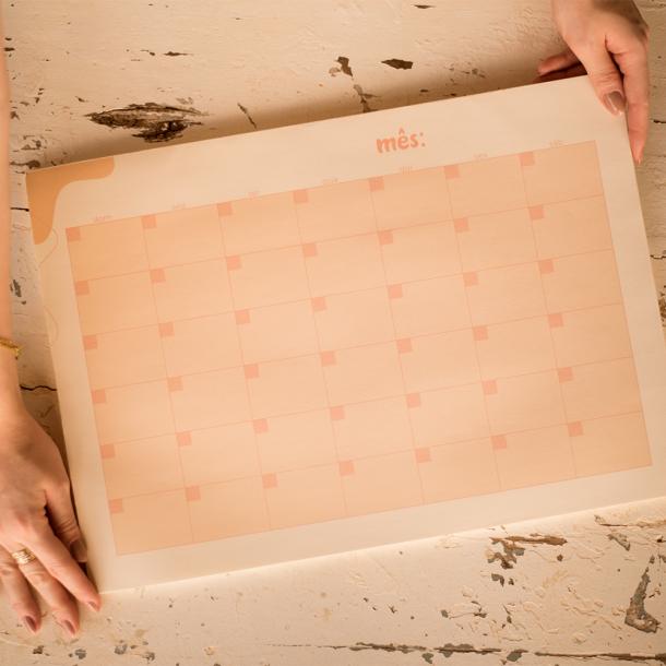 bloco de papel meu mês coleção alice manga - mim papelaria