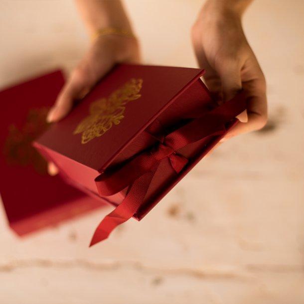 caixa para fotos p - coleção amor eterno - mim papelaria