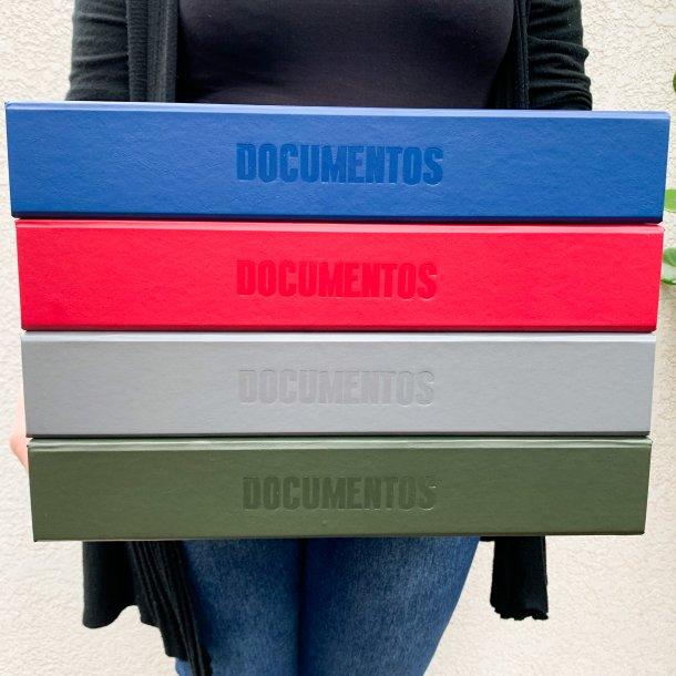 caixa para fotos e documentos - pronta entrega - mim papelaria