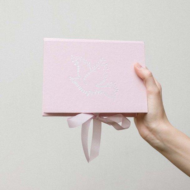 caixa para fotos p - batismo - mim papelaria