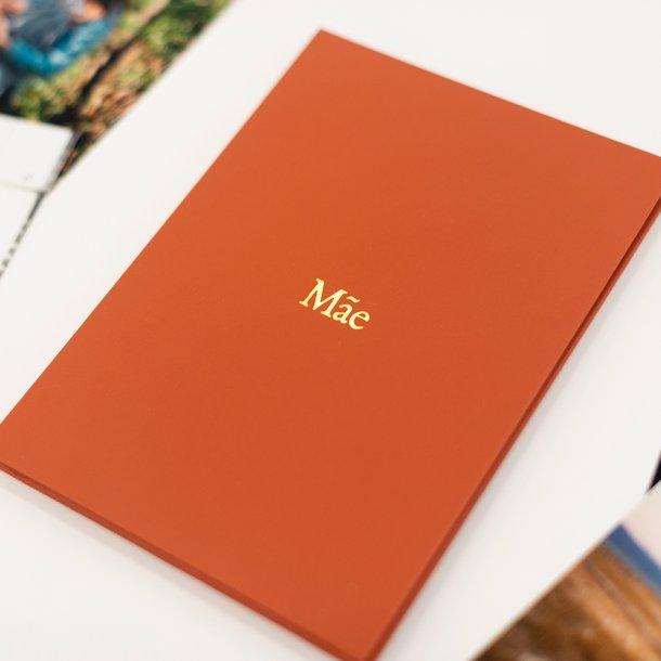 cartão com fotos e mensagem mãe - mim papelaria