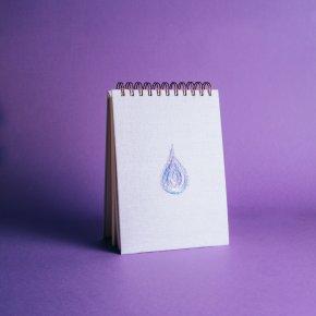 Imagem - bloco de anotações - coleção it's always you lilás - mim papelaria - 522