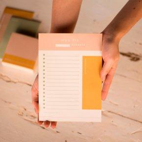 Imagem - bloco de papel meu dia coleção por mim - mim papelaria