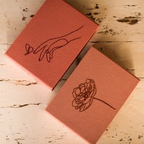 Imagem - caixa m - coleção amor de mãe - mim papelaria