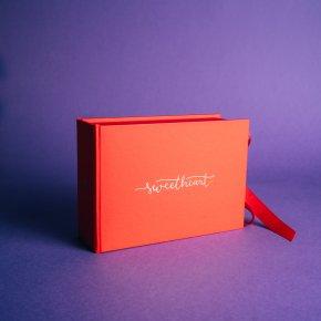 Imagem - caixa para fotos p em laço - coleção sweetheart - mim papelaria - 506