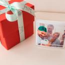 acrílico dia dos namorados com fotos 10x10 - coleção meu par - mim papelaria 2