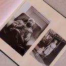 álbum de fotos big bordado verde pistache - coleção avós do amor - mim papelaria 2