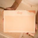 bloco de papel jogo stop coleção alice manga - mim papelaria
