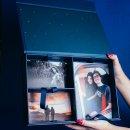 caixa memórias 3 divisórias - coleção sweetheart - mim papelaria