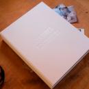 caixa para fotos e documentos personalizada A4 - mim papelaria