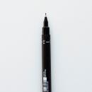 caneta uni pin fine line - preta