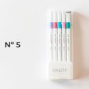 canetas emott 5 unidades 2