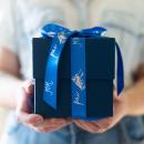 kit caixa de presente com suporte acrílico - coleção dia dos pais + fotos 10x10 - mim papelaria 4