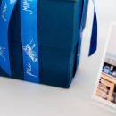 kit caixa de presente com suporte acrílico - coleção dia dos pais + fotos 10x10 - mim papelaria 2