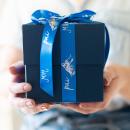 kit caixa de presente com suporte acrílico - coleção dia dos pais + fotos 10x10 - mim papelaria 3