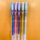 kit caneta gel uni-ball signo - tons metálicos - mim papelaria 4