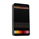 lápis de cor profissional posca uni-ball multicolor estojo 36 cores 2