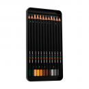 lápis de cor profissional posca uni-ball multicolor estojo 36 cores 3