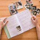 livro para fotos m verde menta - coleção amor de pet - mim papelaria 6