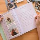 livro para fotos m verde menta - coleção amor de pet - mim papelaria 2