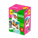 pack de filme fuji para câmera instax colorido - 40 unidades