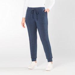 Imagem - Calça jogger em malha jeans