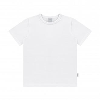 Imagem - Camiseta Masculina Infantil  Meia Malha - Alakazoo! - 1392889_001-BRANCO