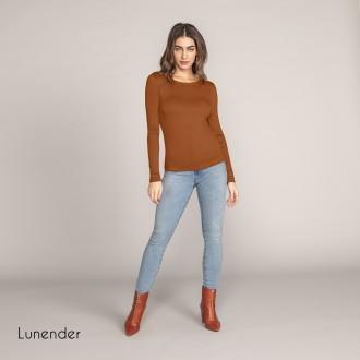 Blusa de Malha Basica Lunender