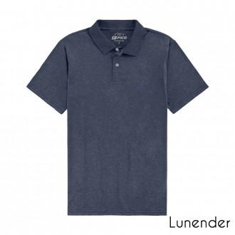 Imagem - Camisa Polo Masculina De Malha-Lunender - 1679036_16062-MARINHO