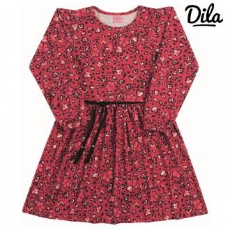 Vestido Cotton Sublimado Feminino Para Criança Dila