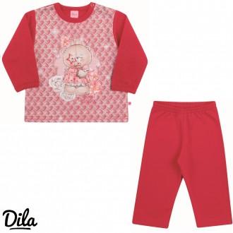 Imagem - Conjunto Moletom Feminino Para Bebê Dila - 2121205_5023-VERMELHO