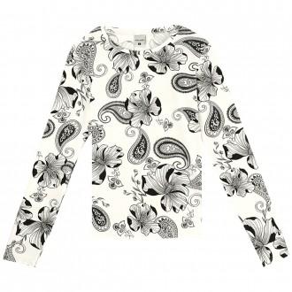 Blusa viscose manga longa - Malwee